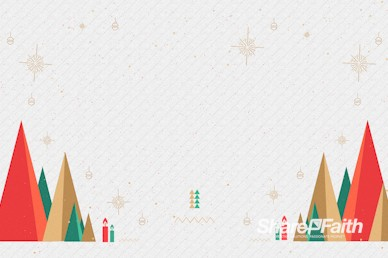 The First Noel Christmas Motion Background