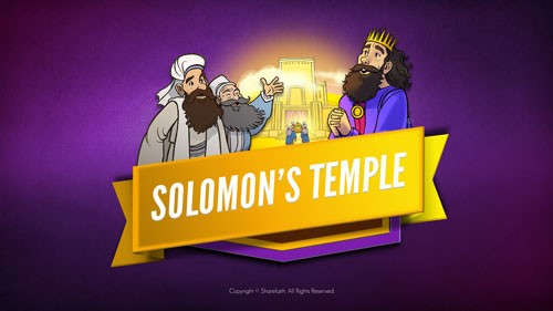 1 Kings 8 Solomon's Temple Bible Video for Kids