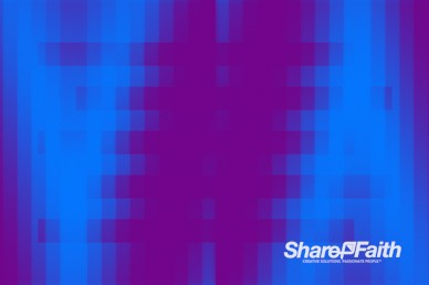 Low Res Pixel Waves Motion Background