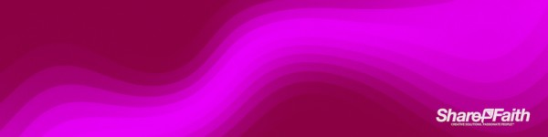Pink Pixel Waves Triple Wide Motion Background