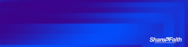 Blue Angle Pixel Waves Triple Wide Motion Background