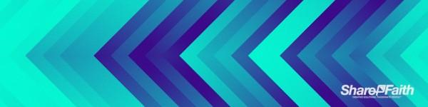 Arrow Pixel Waves Triple Wide Motion Background