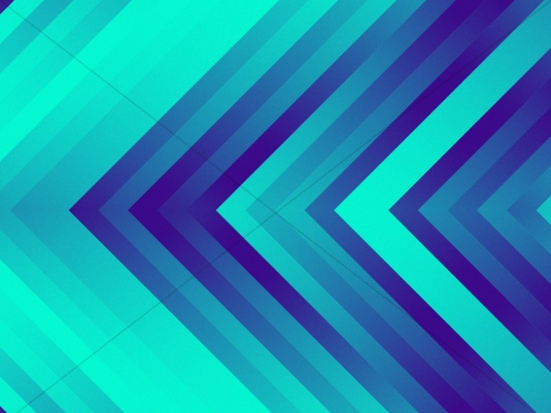 Arrow Pixel Waves Worship Background