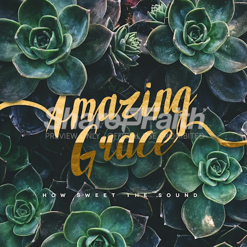 Amazing Grace Social Media Graphic