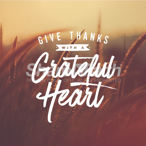 Give Thanks Social Media Graphic