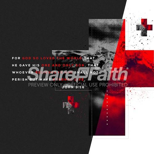 John 3:16 Social Media Graphic
