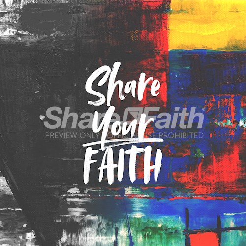 Share Your Faith Social Media Graphic
