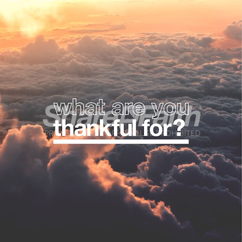 What Are You Thankful For Social Media Graphic