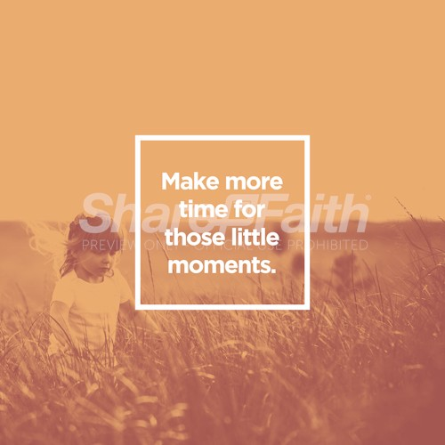 Little Moments Social Media Graphic