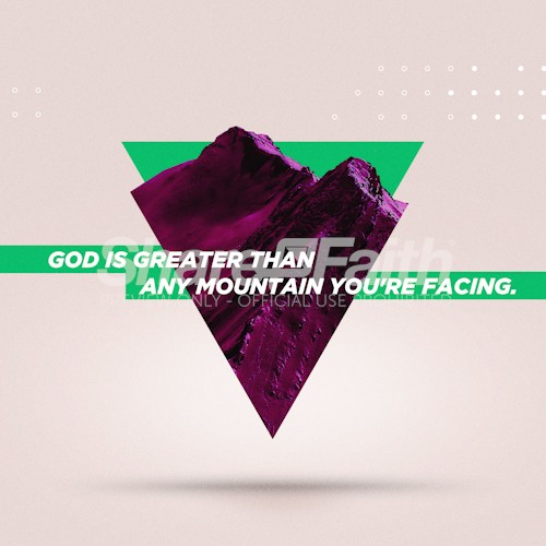 God Is Greater Social Media Image