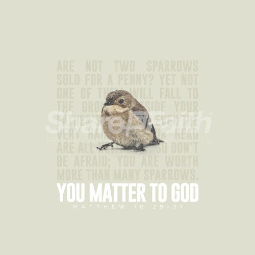 You Matter To God Social Media Image