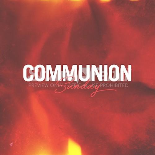 Communion Sunday Social Media Graphic