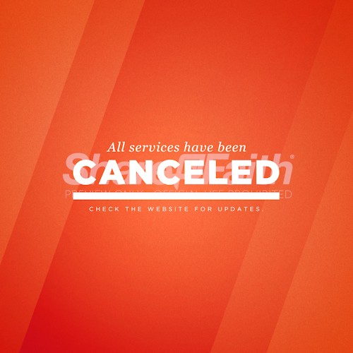 Canceled Service Social Media Graphic
