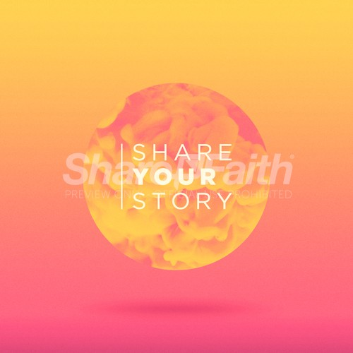 Share Your Story Social Media Graphic