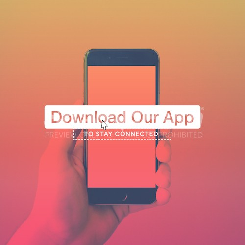 Download Our App Church Social Media Image