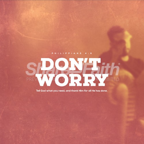 Don't Worry Social Media Graphic