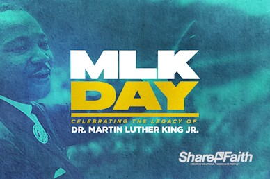 Martin Luther King Jr Day Service Bumper Video