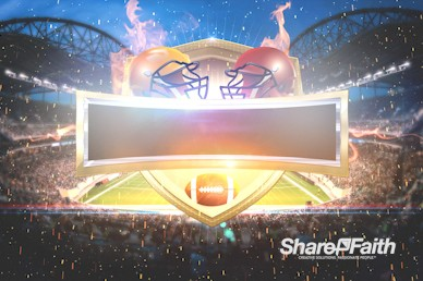 Super Sunday Stadium Motion Background