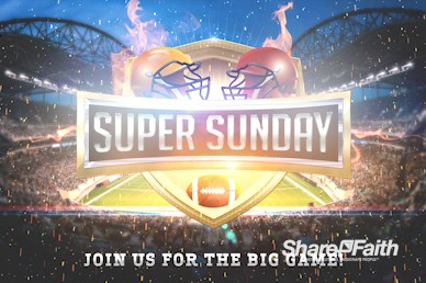 Super Sunday Stadium Motion Graphic
