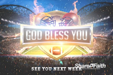 Super Sunday Stadium Goodbye Motion Graphic