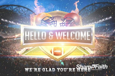 Super Sunday Stadium Welcome Motion Graphic