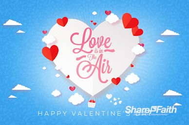 Love Is In The Air Valentine's Day Bumper Video