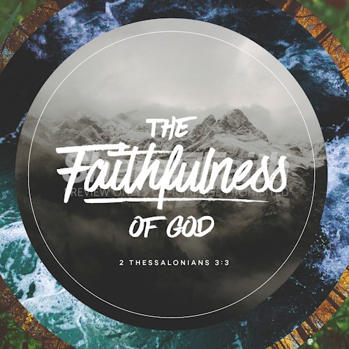 Faithfulness Of God Social Media Image