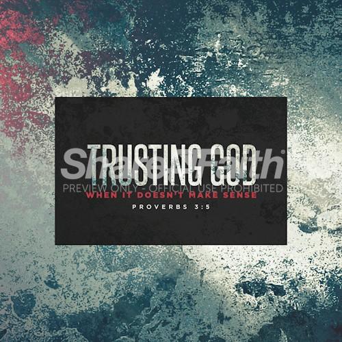 Trusting God Social Media Graphic
