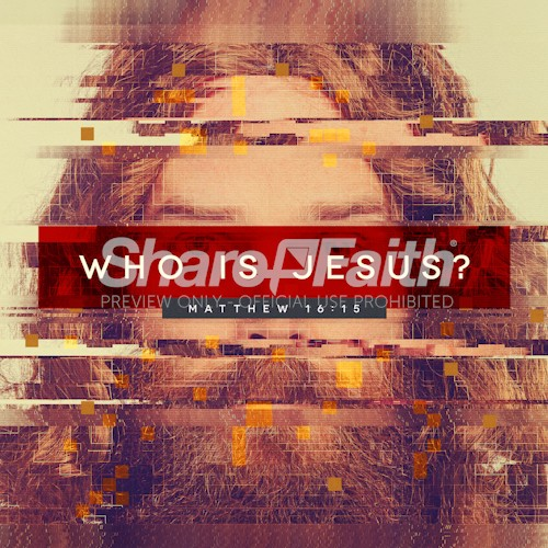 Who Is Jesus Social Media Image