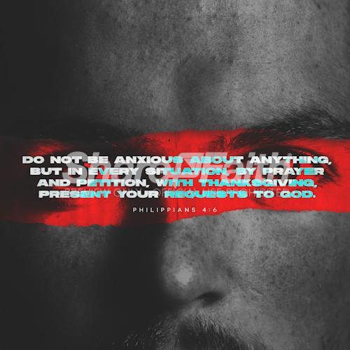 Philippians 4:6 Social Media Graphic