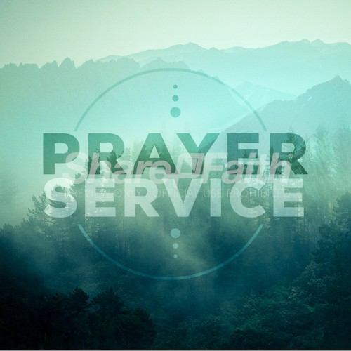 Prayer Service Social Media Graphic