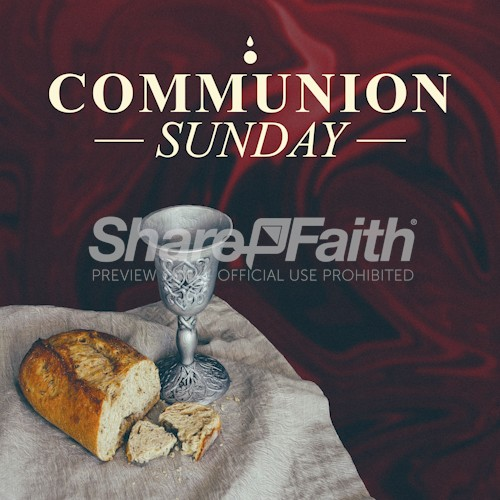 Communion Social Media Graphic