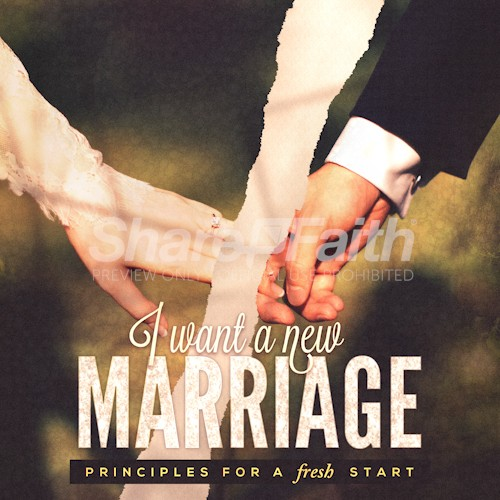 A New Marriage Social Media Graphic