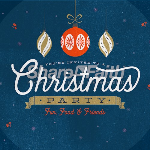 Christmas Party Social Media Image