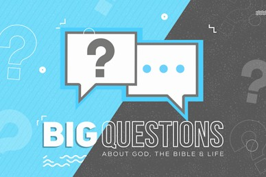 Big Questions Sermon Bumper Video