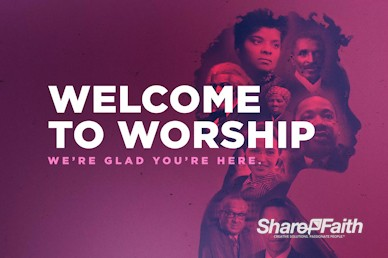 Black History Month Church Service Welcome Video
