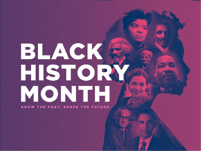 Black History Month Church Service Graphic