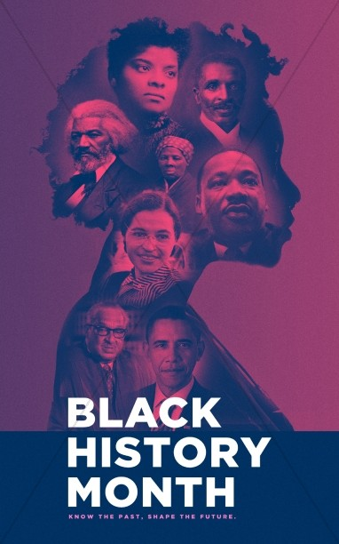 Black History Month Church Service Bulletin Cover