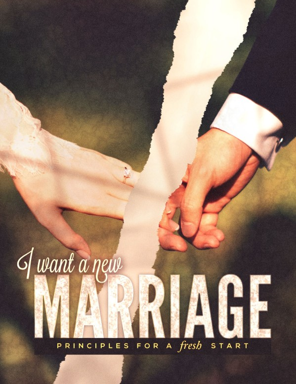 Marriage Restoration Church Flyer