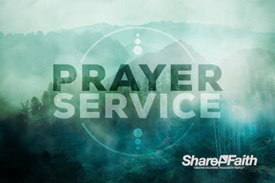 Prayer Service Church Intro Video