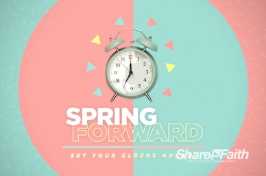 Spring Forward Alarm Clock Service Bumper Video