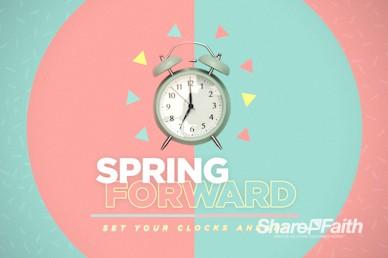 Spring Forward Alarm Clock Service Bumper Video