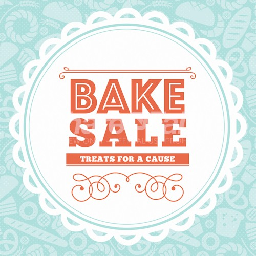 Bake Sale Social Media Graphic