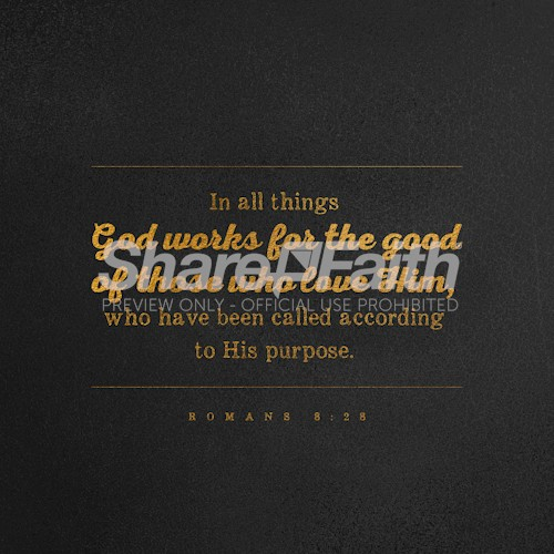 Romans 8:28 Social Media Graphic