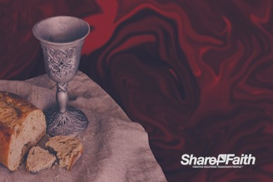 Communion Sunday Motion Background