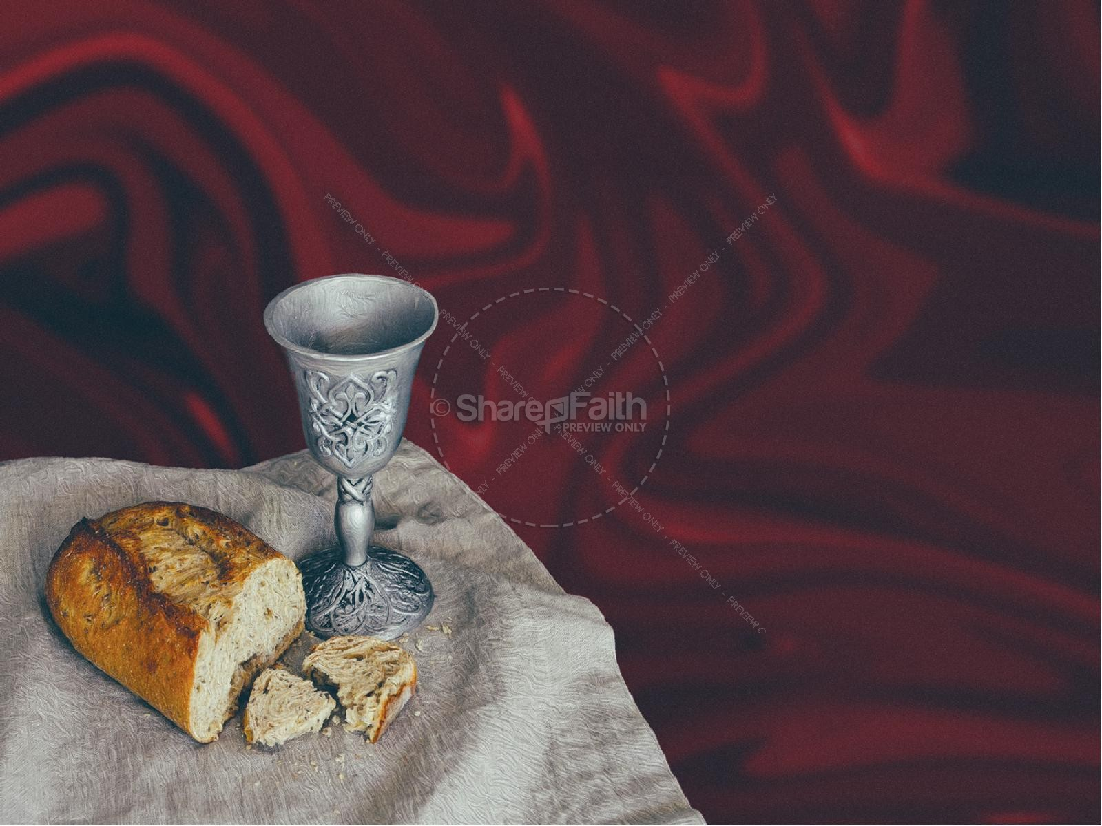 Communion Sunday Service Title Graphic
