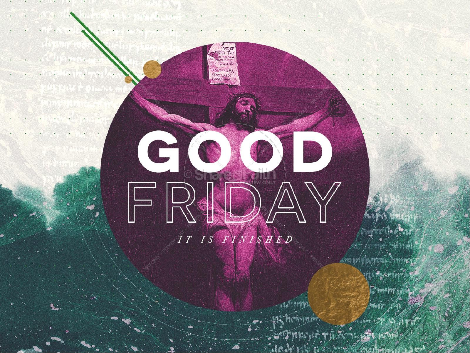 Good Friday Service Graphic Design