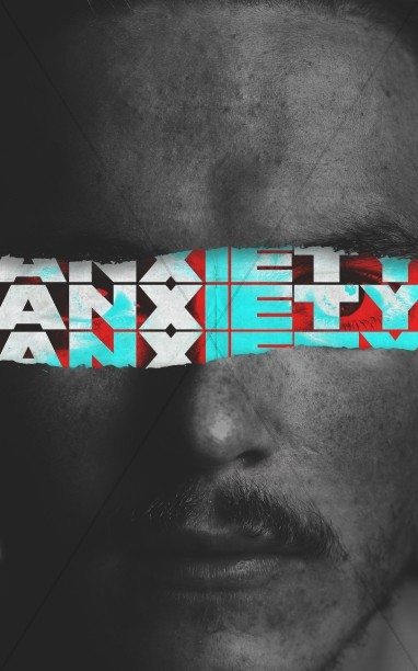 Anxiety Church Service Bulletin Cover