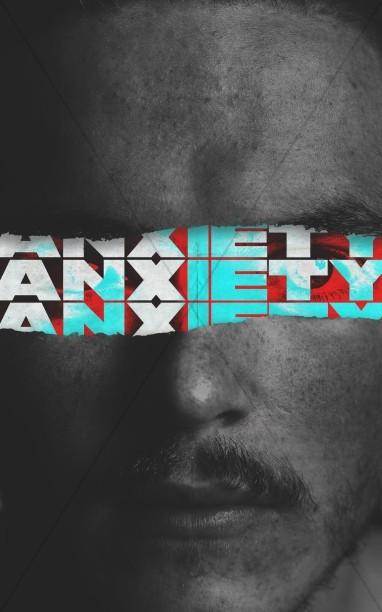 Anxiety Church Service Bulletin Cover
