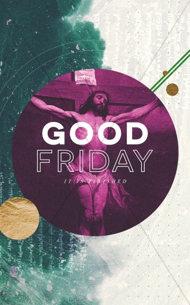 Good Friday Church Service Bulletin
